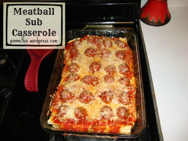 Meatball Sub Casserole Final