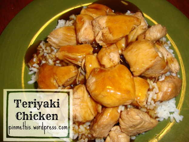 Teriyaki Chicken Final