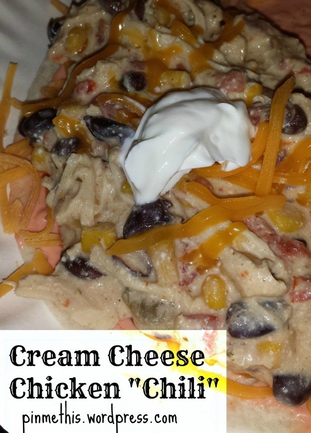 Cream Cheese Chicken Chili final