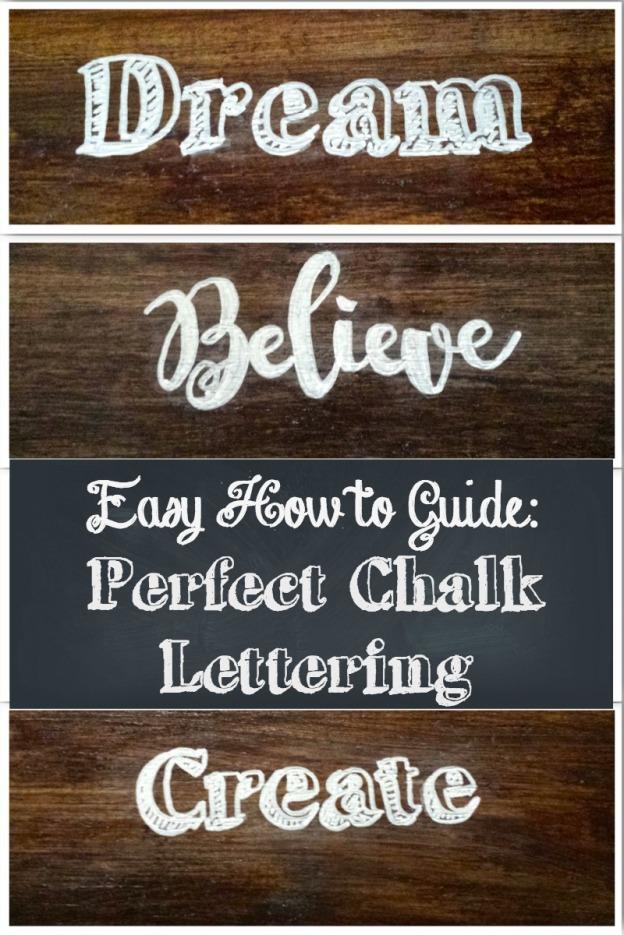 Chalk Lettering Header