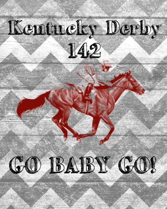 Derby Horse Sign