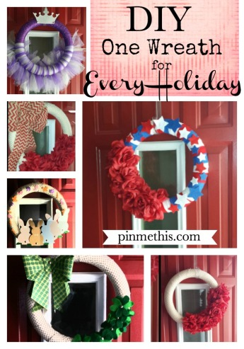 DIY One Wreath
