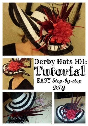 Derby Hat Tutorial