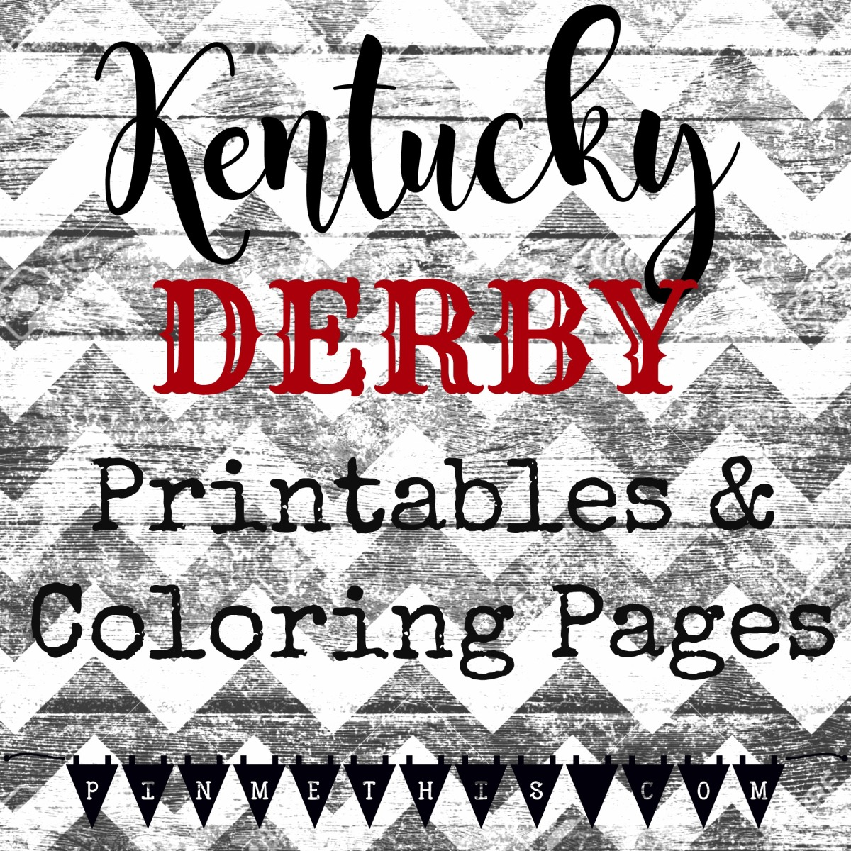 It's just a graphic of Genius Kentucky Derby Printables