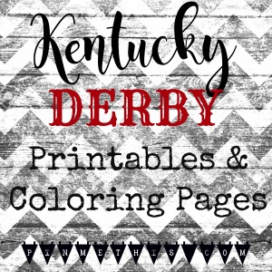 Derby printables and coloring pages