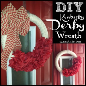 Derby Wreath DIY