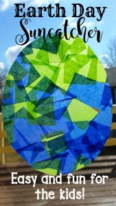 Earth Day Suncatcher