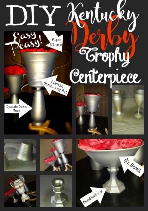 DIY Derby Trophy Centerpiece