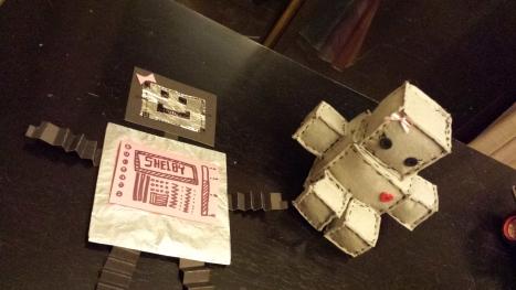 Make Your Own Felt Robot!