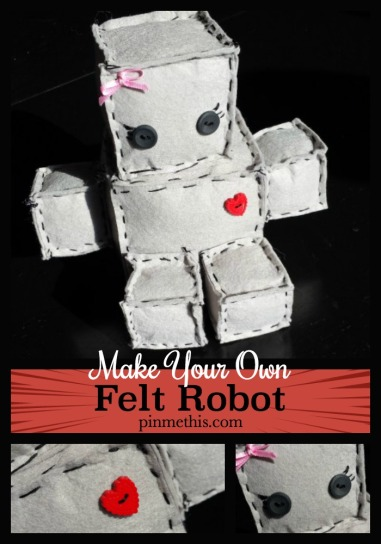 Make Your Own Felt Robot