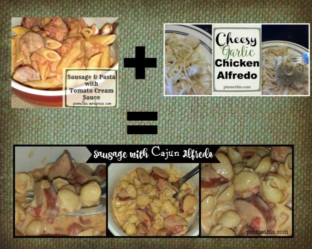 Sausage Cajun Alfredo